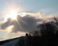 Sun in a Cloud