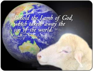 Jesus is the Lamb of God