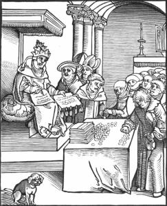 Pope Selling Sinful Indulgences