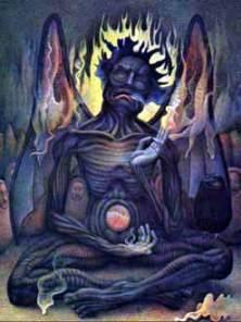 Satan's Throne in the Heart