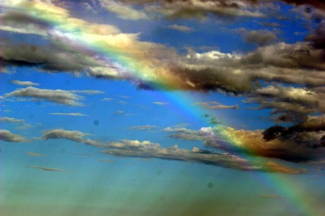Rainbow Like an Emerald