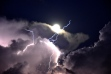 Lightning from Clouds in Heaven