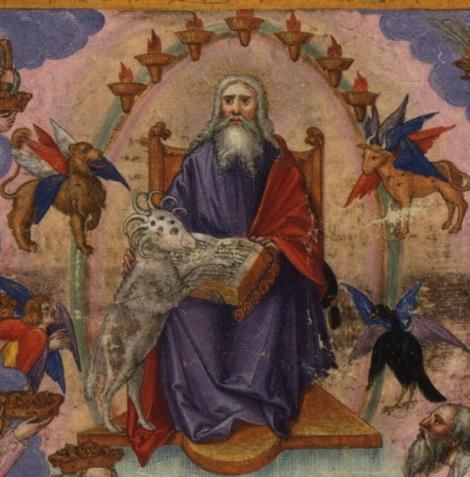 Lamb at God's right hand