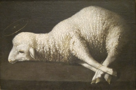 Lamb to be slain
