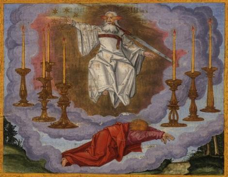 Jesus Among the 7 Candlesticks