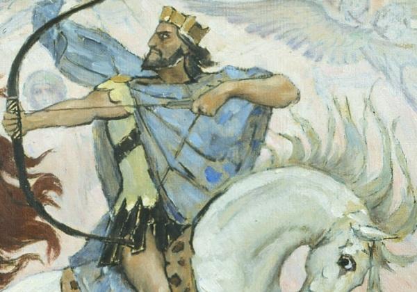 Jesus the White Horse Rider