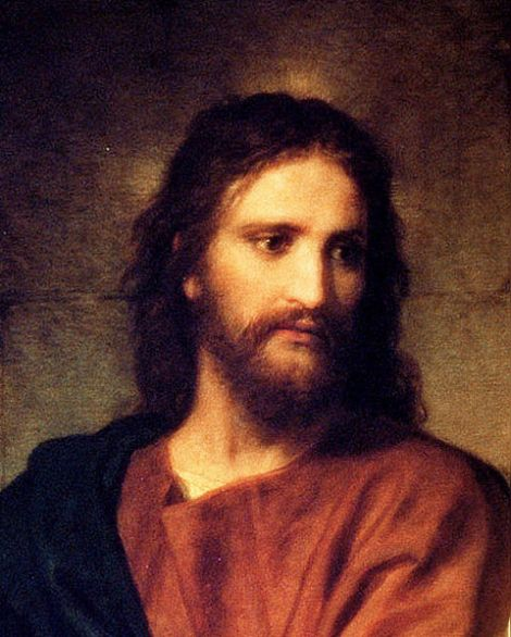 Christ painting by Heinrich Hofmann