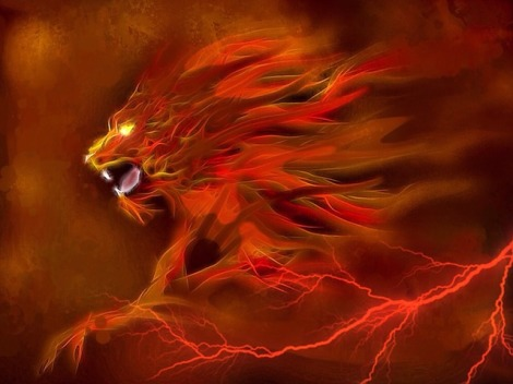 lion-of-fire