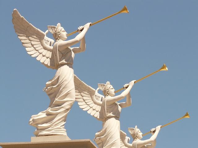 Three Trumpet Angels