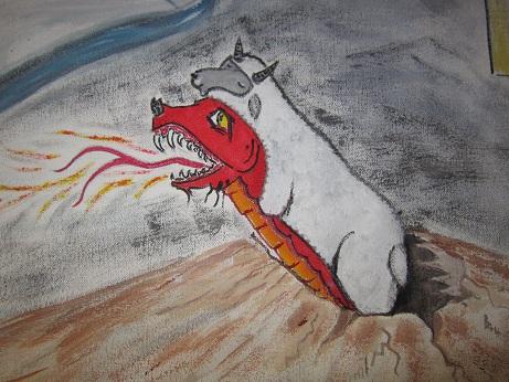 Lamb-Dragon Beast