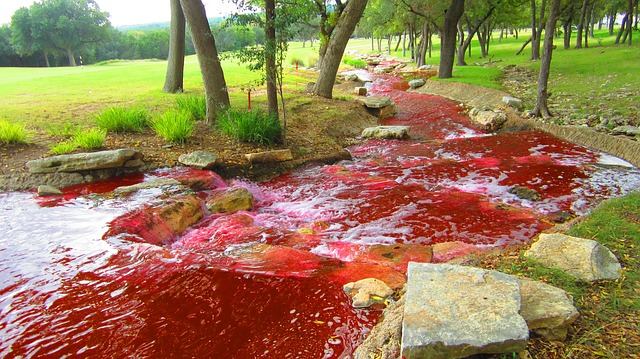 river turned to blood