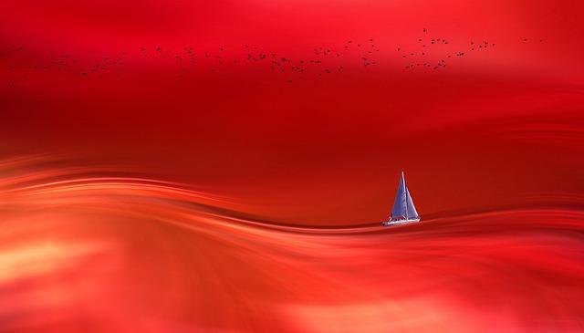 sea turned to blood