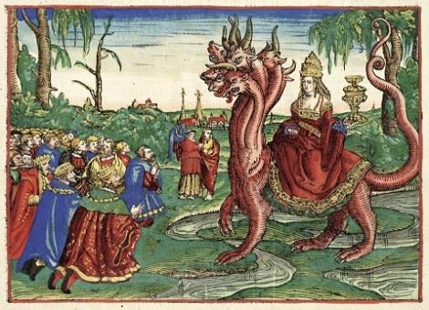 Whore Babylon on eighth beast