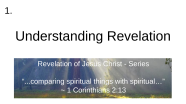 Videos of Revelation Education Series