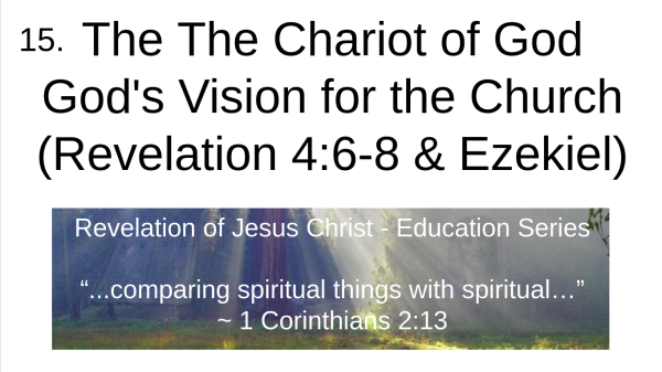 video 15 The Chariot of God
