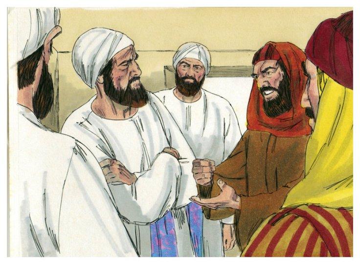 Jews arguing